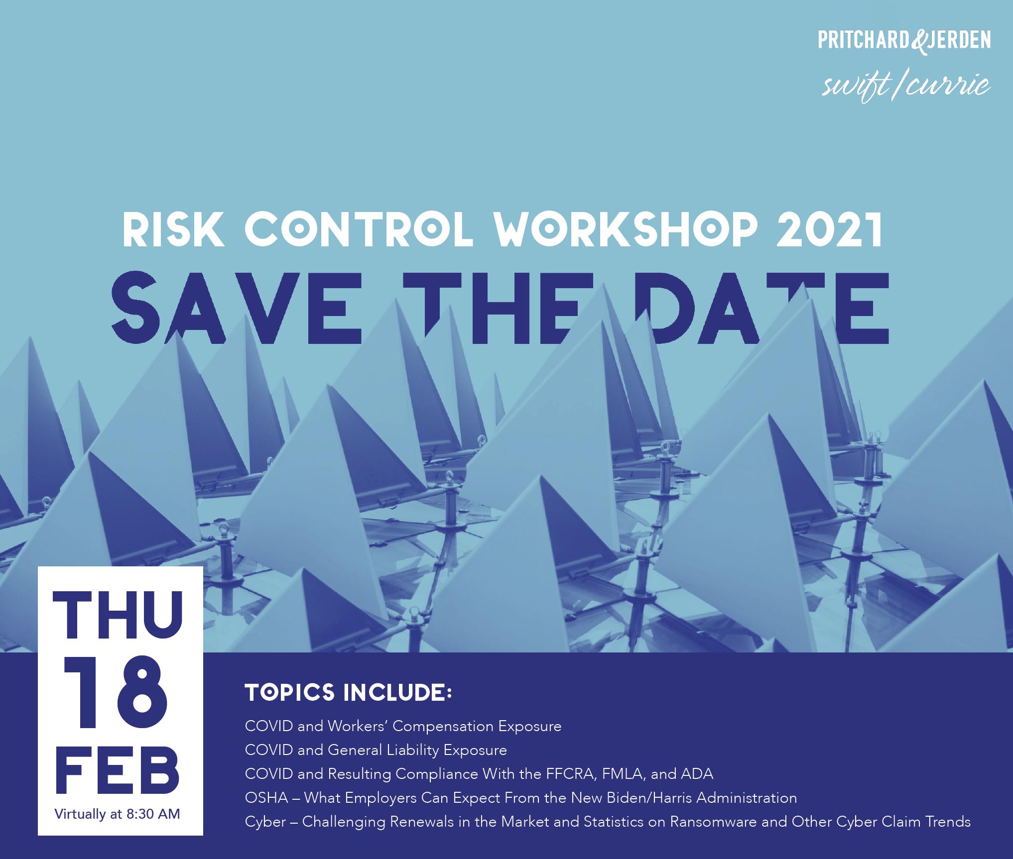 Risk Control Workshop 2021
